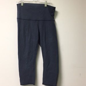 Lululemon blue legging, sz 8, 56678